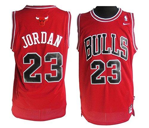 Preisvergleich Produktbild Nike Michael Jordan Trikot, Chicago Bulls, Rot Herren, Größe XL