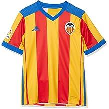 adidas Vcf A JSY Y Camiseta 2ª Equipación Valencia CF 2017-2018, niños,