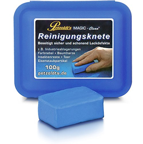 Petzoldt's Profi-Reinigungsknete MAGIC-Clean, Blau, 100 Gramm