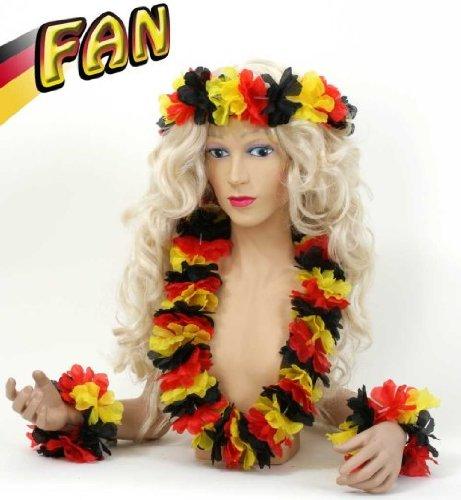 Hawaii - Set 4tlg Fan Deutschland FAN - - Für Halskette Männer Hawaii