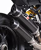 1-2 Auspuff Kit mit KAT (EURO 4) Ducati Monster 1200 1200 R/ 1200 S (2016-) QD Exhaust ADUC0460001