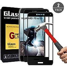 [2 Unidades] Cristal Templado Huawei P8 Lite 2017, Outera Protector Pantalla Vidrio Templado para Huawei P8 Lite 2017
