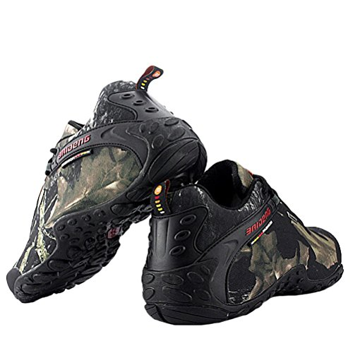 MatchLife Homme Camouflage Imperméable Sports Hautes Chaussure Style2-Gris
