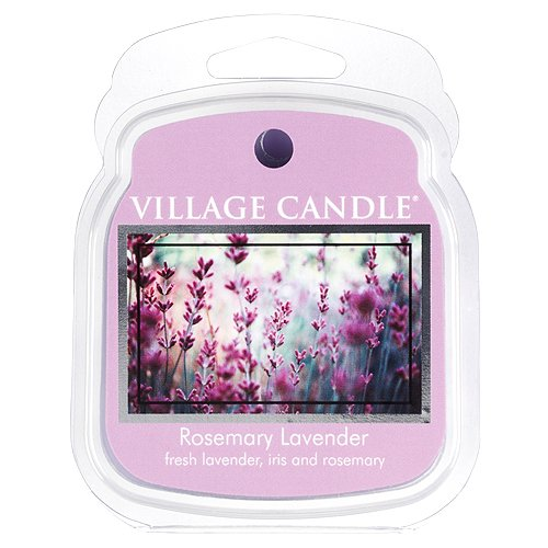 Village Candle Duftkerze 106101810Kerze Wachs schmilzt, Violett -