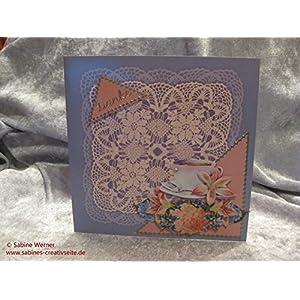 3D Dankes-Grußkarte, Art. 9647