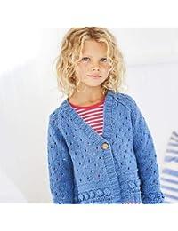 47b095ec0 Jeanie Denim Look Knitting Pattern 9612 Cardigans - 51 56-71 76 cm