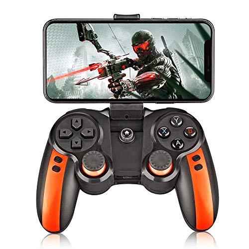 1 mit Halter Smart Wireless Joystick Bluetooth X3 Gamepad Verbesserte Fernbedienung für PC Telefon Tablet ()