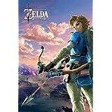Legend of Zelda Breath of the Wild Poster Pack Hyrule Scene Landscape 61 x 91 cm (5) Pyramid International Posters Wallscrolls