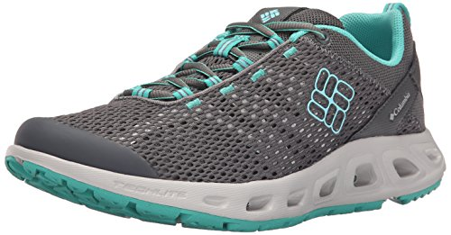 Columbia Drainmaker Iii, Multisport Outdoor Femme Multicolore (Quarry, Candy Mint 052)