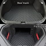 Topfit voiture tapis de coffre/hayon Premium pour Model S P90 P85 85 60-black
