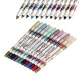 12 Colors M.N. Waterproof Glitter Eyelin...