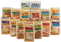 Bielmeier - Küchenmeister Brotbackmischungen 15teiliges Kennenlern-Set,1er Pack (1 x 7.5 kg)