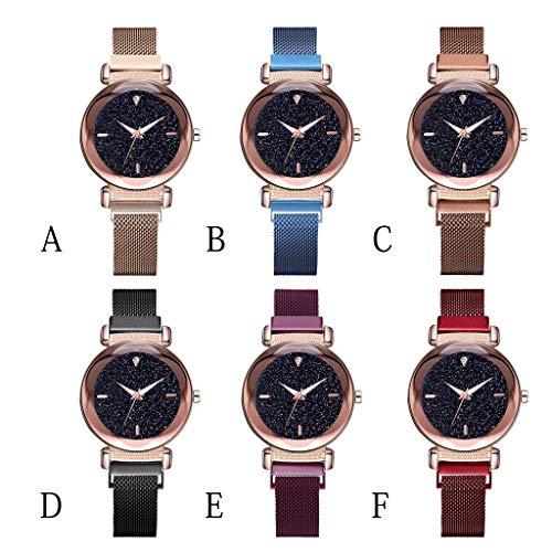 DAYLIN Relojes Mujer Chica Señora Marcas Ofertas Reloj Pulsera Brazalete Quartz Deportivo Reloj Analogico de Cuarzo Wrist Watch Mujer Women Jewelry Joya Regalos