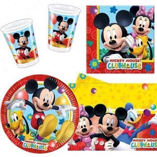 Playful Mickey Pacco Articoli Per La Tavola Per Festa
