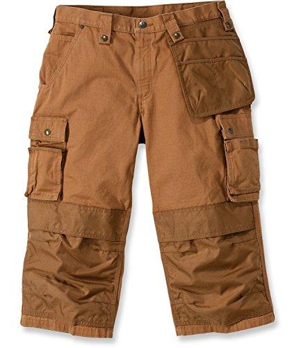 Carhartt 100455 Emea multi poche Ripstop pirate Pantalon de travail pantalons Carhartt Brown