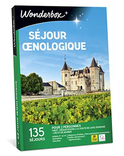 Wonderbox - Coffret cadeau - SEJOUR OENOLOGIQUE - Hotels 3, 4 étoiles, belles...