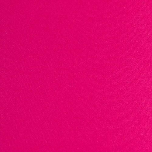 Swafing elastisches Bündchen DIY Stoff pink Schlauchware 50 x 90 cm (45 cm aufgetrennt) -