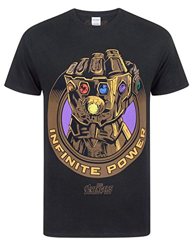 Avengers Infinity War Marvel Thanos Infinity Gauntlet Men'S T-Shirt (XXL)