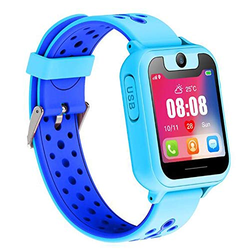LAZ Smart Watch Localizador Tracker Anti-Lost Pulsera Segura SOS GPS Reloj teléfono para iOS Android...