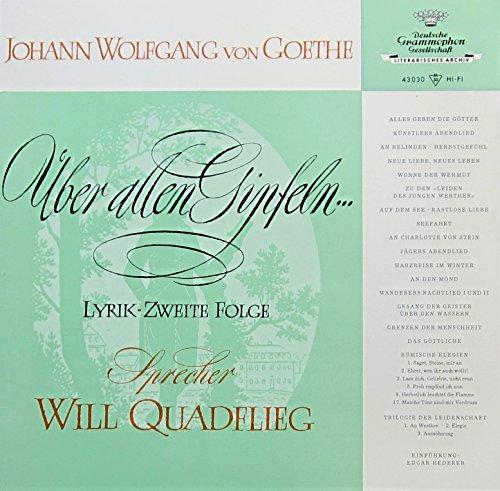 Johann Wolfgang von Goethe. Folge 2. Über allen Gipfeln -