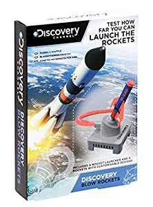 Paladone PP2936DIS Discovery Channel Blow Rockets - Juguete