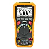 Zorbes PEAKMETER PM8236 Digital Multimeter Resistance/Capacitance/Frequency/Duty Cycle/DC AC Voltage Current/Temperature Meter with T - RMS/USB