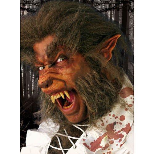 Werwolf-Set Deluxe (Werwolf Deluxe Maske)