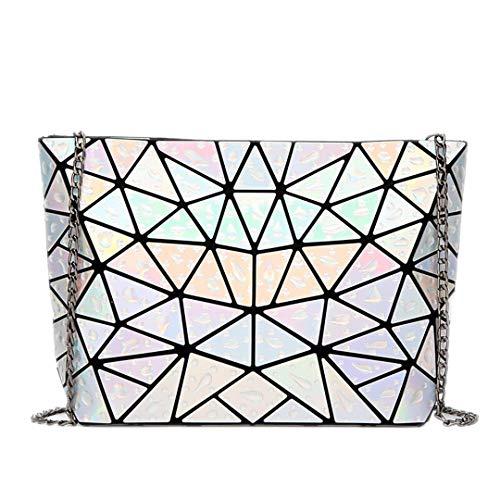Geometrie-Mode-Frauen-Handtaschen-berühmter Diamant-Gitter-Falten-Schulter-u. Umhängetaschen Umhängetasche 2