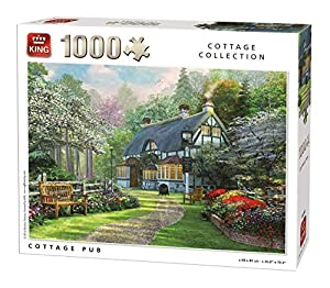 King Cottage Collection Cottage Pub 1000 pcs Puzzle - Rompecabezas (Puzzle Rompecabezas, Paisaje, Adultos, MGL, Hombre/Mujer, 8 año(s))