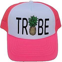Novia Tribe piña snapback malla gorra sombrero gorra insignias para boda equipo neón