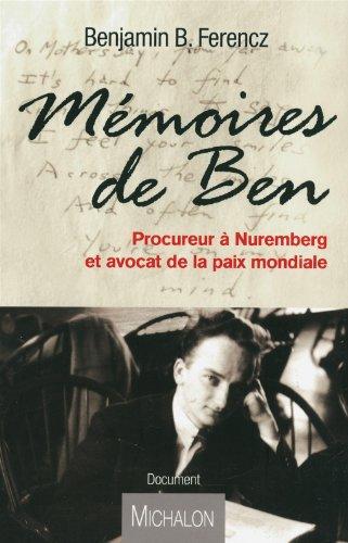 MEMOIRES DE BEN - PROCUREUR A