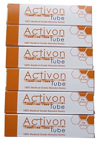 Activon Medical Grade Honey 25g (Pack of 6)