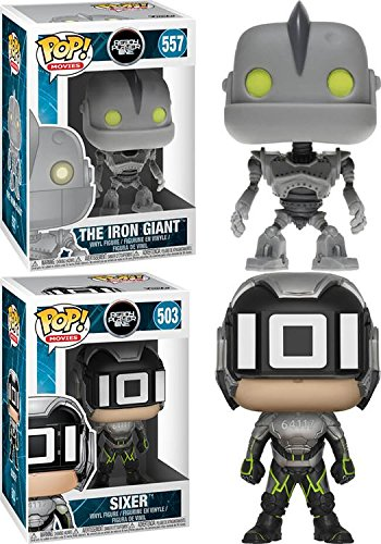 Funko POP Ready Player One The Iron Giant Sixer Stylized Vinyl Figure Bundle Set NEW