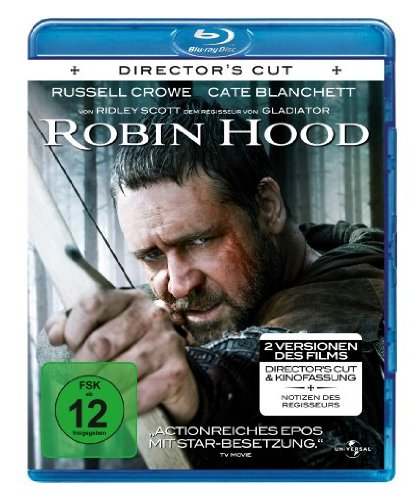 Universal Pictures Germany GmbH Robin Hood (Director's Cut & Original-Kinofassung) [Blu-ray] [Director's Cut]