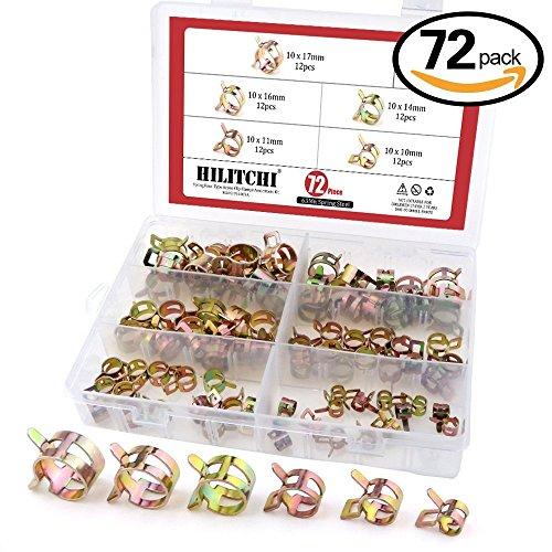 hilitchi-72-pz-molla-tipo-banda-azione-carburante-tubo-flessibile-in-silicone-tubo-morsetto-a-bassa-
