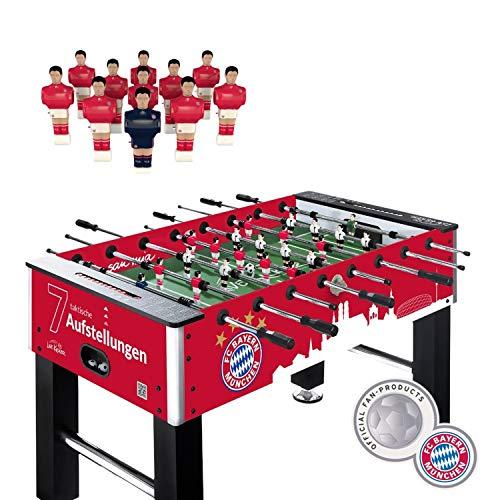 Live Kicker 49131 Heimspiel FC Bayern München Tischkicker, Rot, 74 x 140 x 88.5 cm