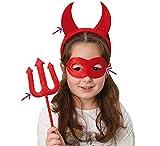 Rotes Teufel - Set für Kinder (3-Teilig)