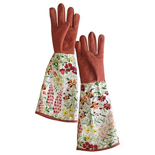Garten-und Arbeitshandschuhe. Rose beschneiden. Anti-Dorn. Die Länge bis Ellbogen schützt Ihre Arme. Nützliche Gartenhandschuhe für...