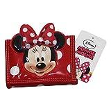 Disney Minnie Portefeuille Pour Enfant Porte-Monnaie Cartes Pochette