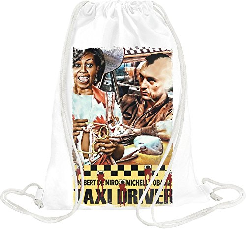 Michelle Obama in Taxi Driver Drawstring bag