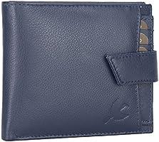 Hornbull Navy Odense Leather Men'S Wallet
