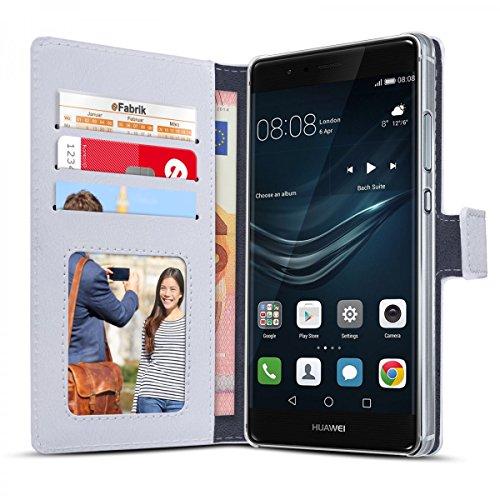 eFabrik housse pour Apple iPhone SE 5 5S coque cover smartphone sac de protection blanc blanc