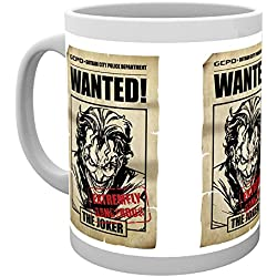 GB eye LTD, Batman Comic, Joker Wanted, Taza