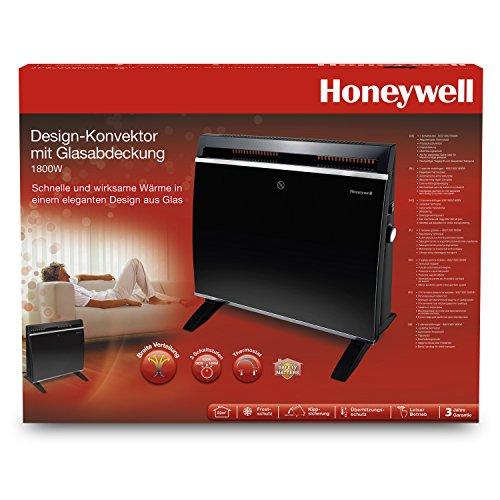 Honeywell  HCE890 BE Design-Konvektor Heizer mit Glasabdeckung / 1800 Watt - 7