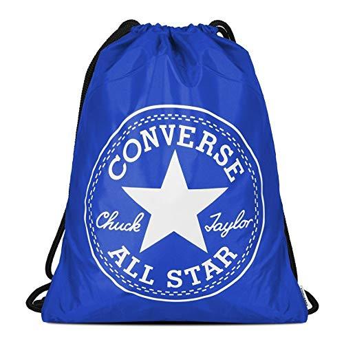 Converse Big Logo Turnbeutel, blau, One Size