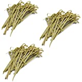 Ezee Bamboo Knot Skewers Sticks - 3.5 Inches (300 Pieces)