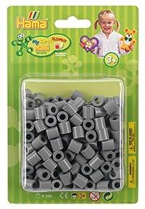 Hama 8517 - Cuentas para Planchar, Color Gris