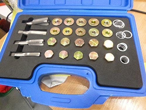 Cárter ölwanne Juego de herramientas para reparación de roscas M13de M2064tlg