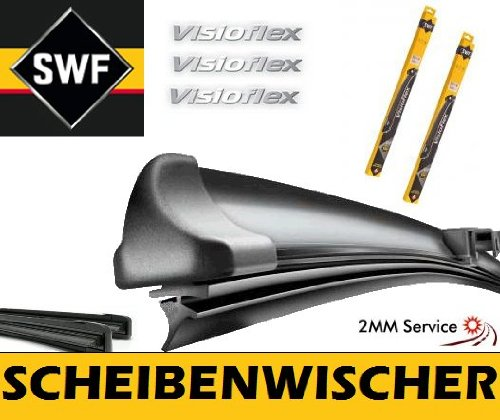 Preisvergleich Produktbild SWF VisioFlex 119418 Scheibenwischer Frontscheibenwischer Wischerblatt Wischblatt Flachbalkenwischer Scheibenwischerblatt 650 / 480 Set 2mmService