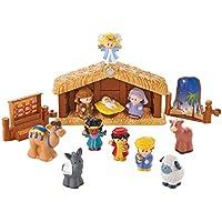 Little People Set Figuras - Pesebre de navidad con los Santos 3 Reyes - Personitas De Precios Fisher